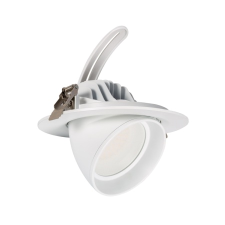 PROJECTEUR LED ROND ORIENTABLE 38W BLANC