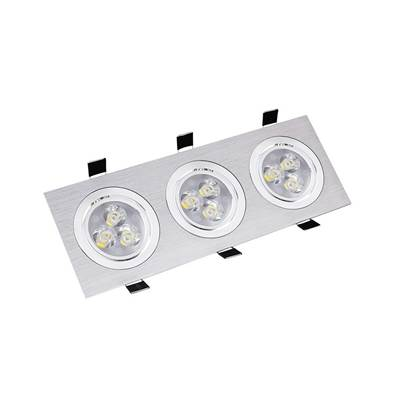 SPOT LED COB RECTANGULAIRE 3X3W