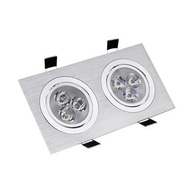 SPOT LED COB RECTANGULAIRE 2X3W